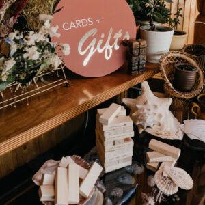 Duurzaam trouwen cadeau tafel