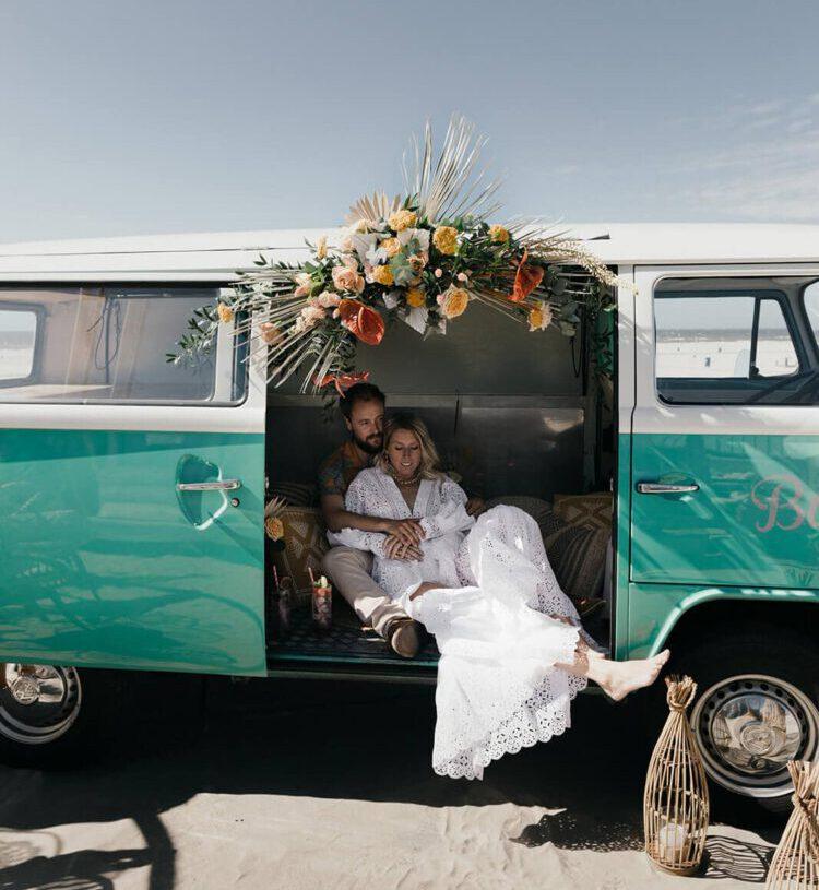 Duurzame bruiloft met foodtruck